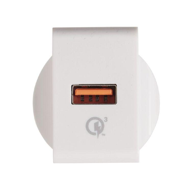 Tech.Inc QC 3.0 USB Wall Charger, , hi-res