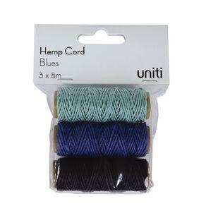 Uniti Hemp Cord Blues 3 Pack