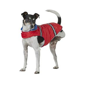 Petzone Reversible Puffer Jacket Red/Blue Medium