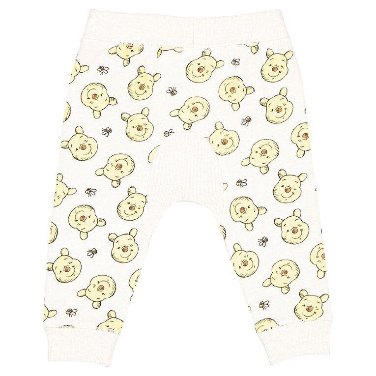 Winnie the Pooh Printed Trackpants, Brown Light, hi-res
