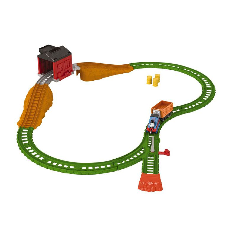 Thomas & Friends Fisher-Price Trackmaster Pushalong Load & Roll Trackset, , hi-res
