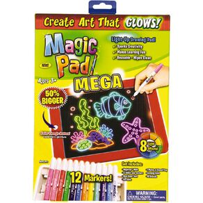 Art Magic Pad Mega Light-Up Drawing Pad