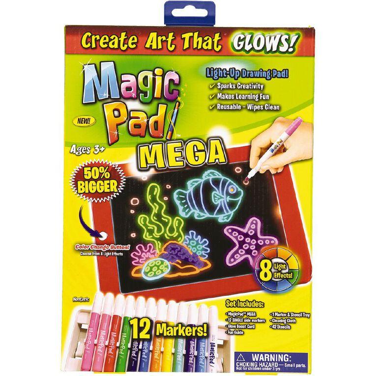 Art Magic Pad Mega Light-Up Drawing Pad, , hi-res