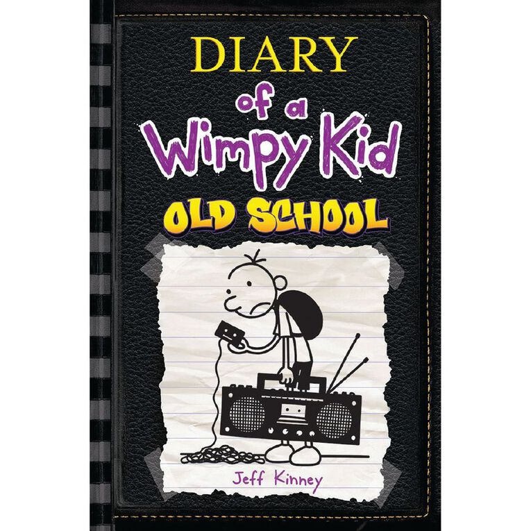 Diary of a Wimpy Kid #10 Old School by Jeff Kinney, , hi-res