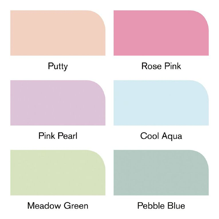 Winsor & Newton Promarker Brusher Pastel Tones 6 Pack, , hi-res