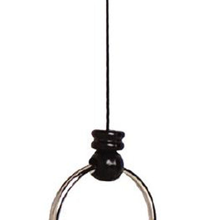 Rexel Mini Retractable Key Holder Black, , hi-res