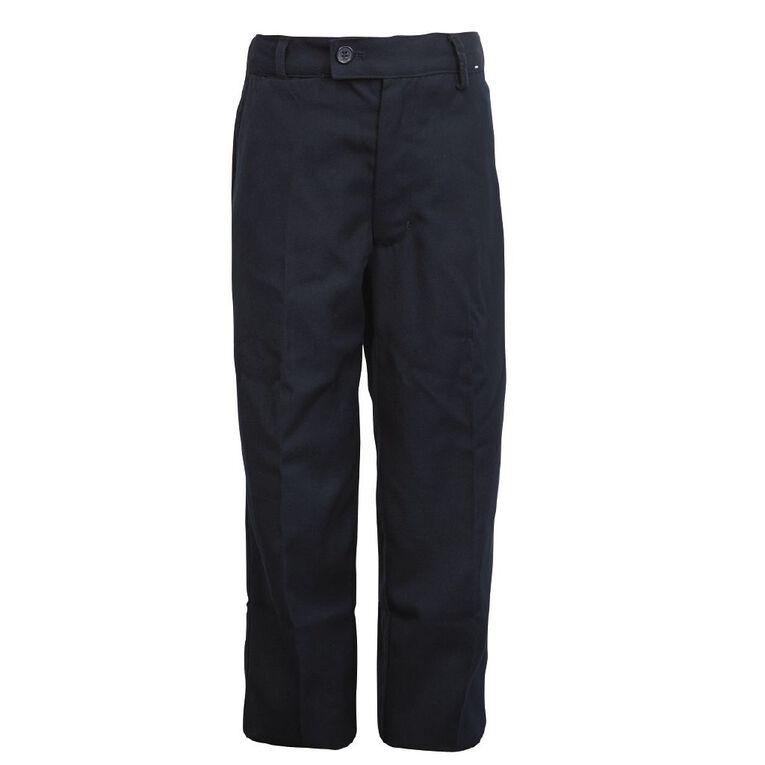 Schooltex Boys' School Trousers, Navy, hi-res