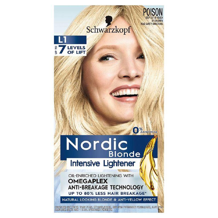 Schwarzkopf Nordic Blonde L1 Intensive Lightener, , hi-res