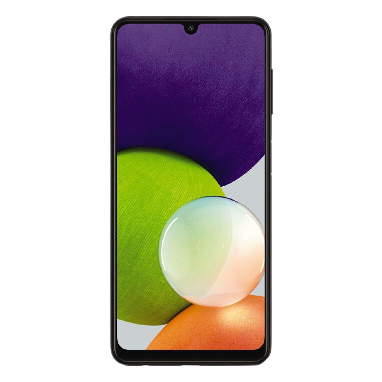 2degrees Samsung Galaxy A22 128GB 4G Black, , hi-res