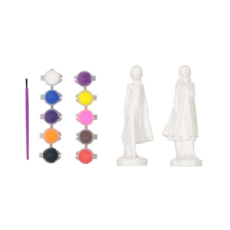 Frozen Paint & Play Plaster Activity Characters Set, , hi-res