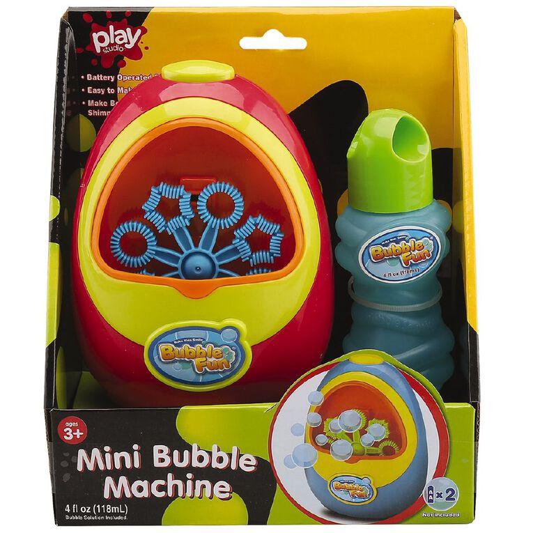 Play Studio Mini Bubble Machine 4 OZ, , hi-res