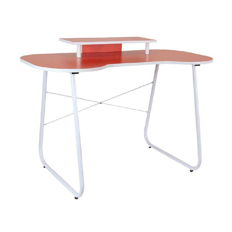 OMP Soho Series Carnaby Desk Orange/White, , hi-res image number null