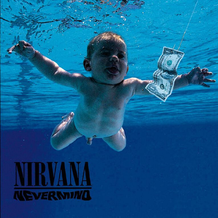 Nevermind Vinyl by Nirvana 1Record, , hi-res
