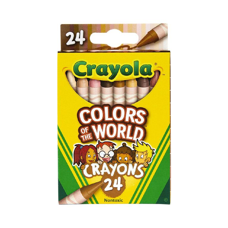 Crayola Colors of the World Crayons 24 Pack, , hi-res