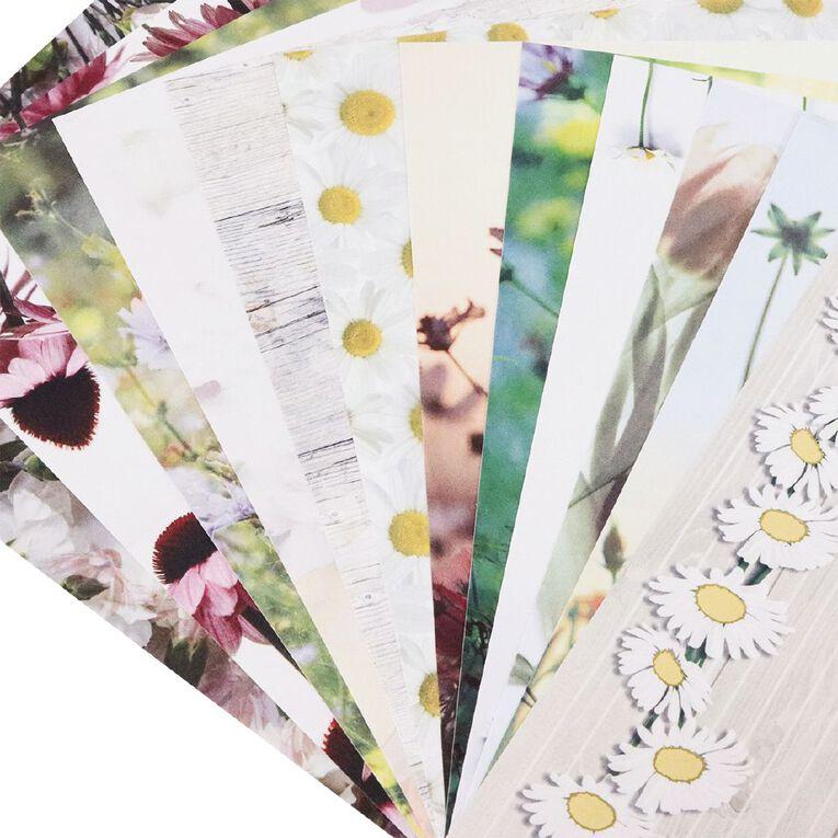 Uniti Wild Stems Paper Pad 6x6 Inch, , hi-res