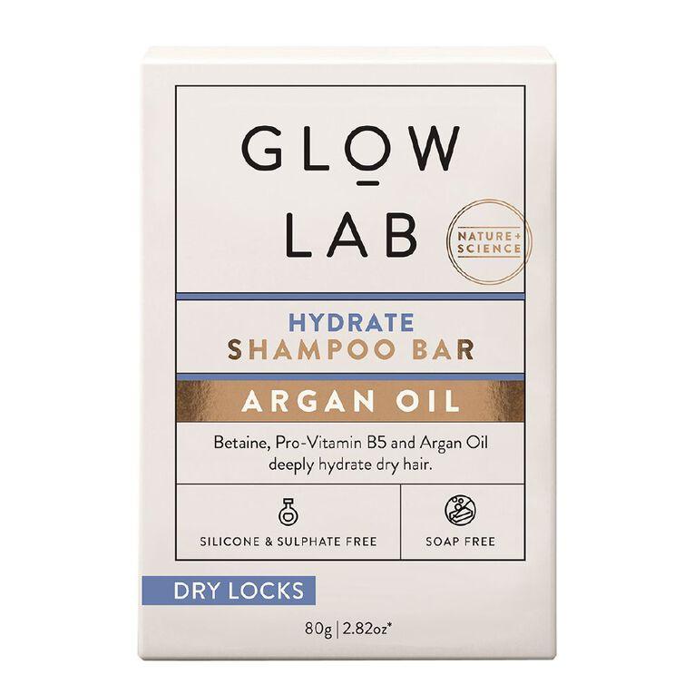Glow Lab Hair Bar Shampoo Hydrate 80g, , hi-res