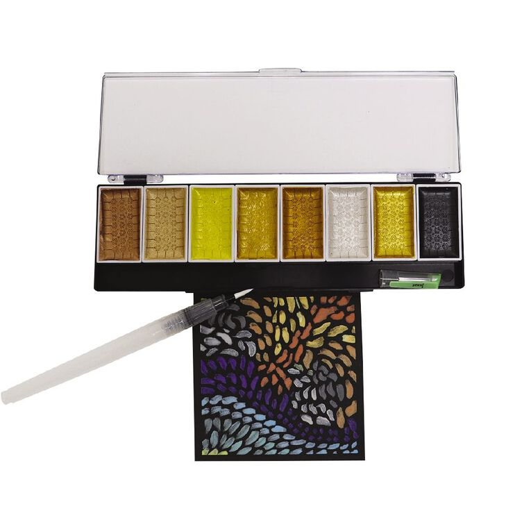 Jasart Voyager Watercolour Metallic Set Ombre 8 Piece, , hi-res image number null