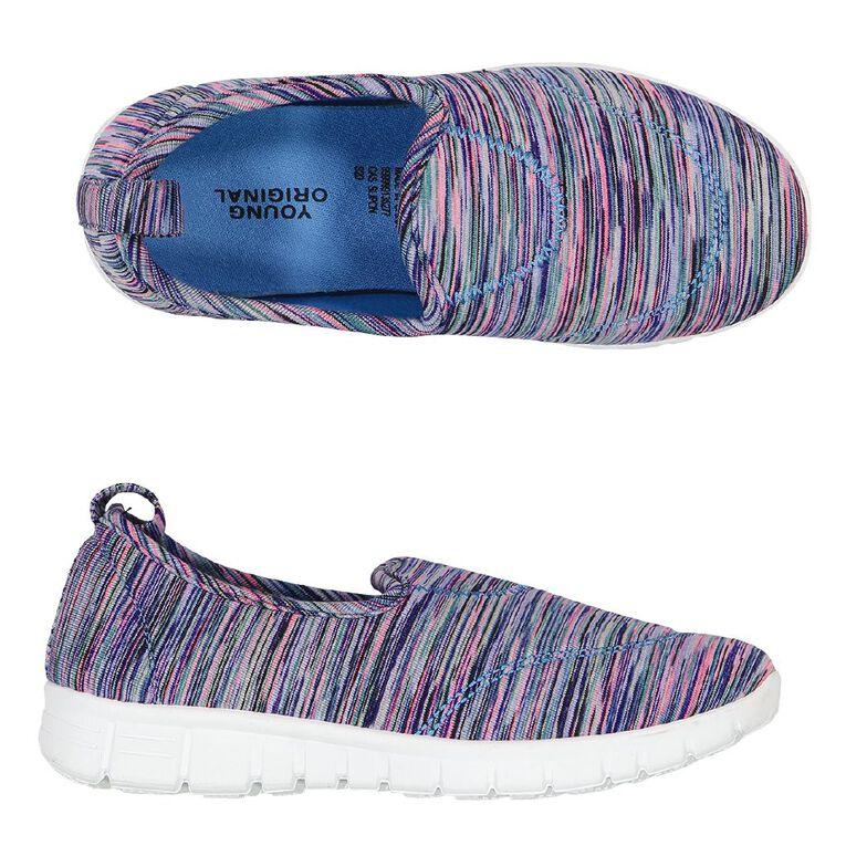 Young Original SlipOn Kids Canvas Shoes, Purple W20, hi-res image number null