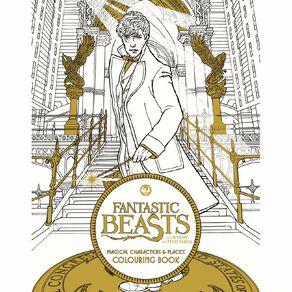 Fantastic Beasts Colouring Book N/A