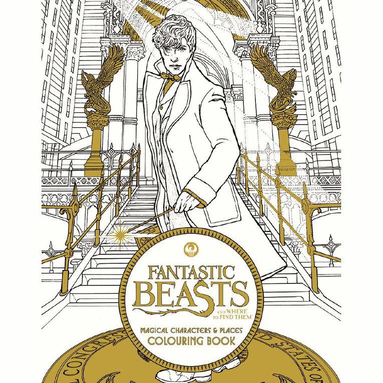 Fantastic Beasts Colouring Book, , hi-res