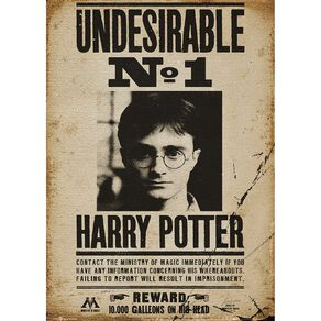 Harry Potter Poster #39 Undesirable