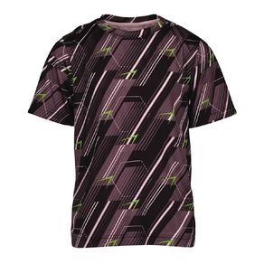 Active Intent Boy's All Over Print Cooldry Tee