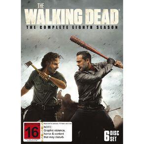 The Walking Dead Season 8 DVD 3Disc