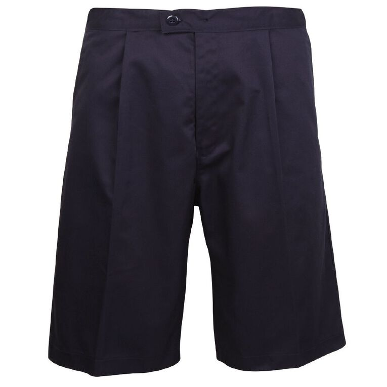 Schooltex Side Tab Shorts, Navy, hi-res