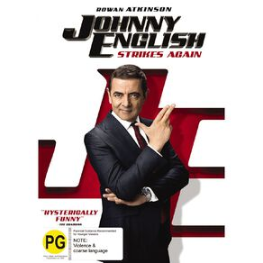 Johnny English Strikes Again DVD 1Disc