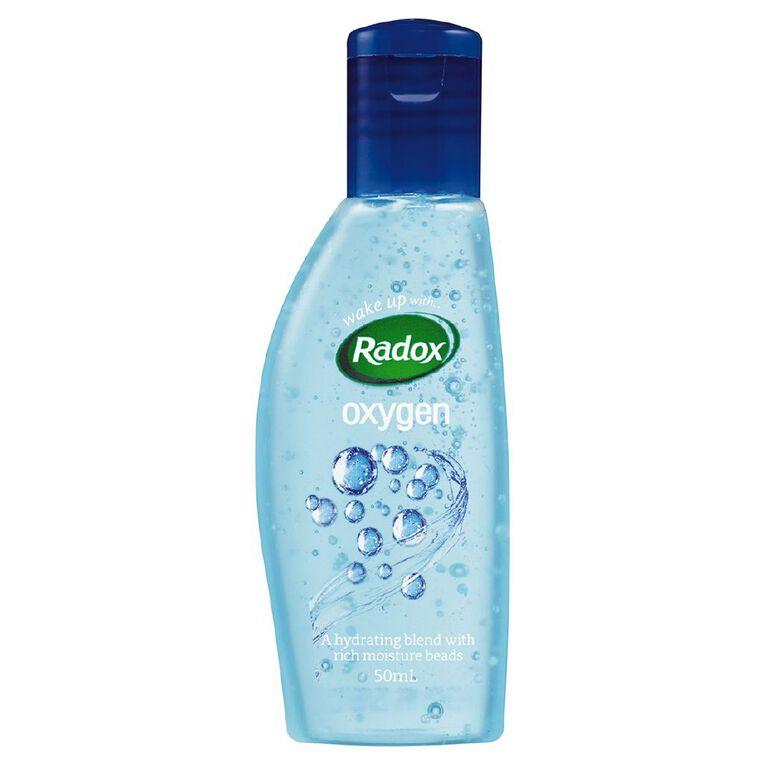 Radox Shower Gel Feel Oxygenated Mini 50ml, , hi-res