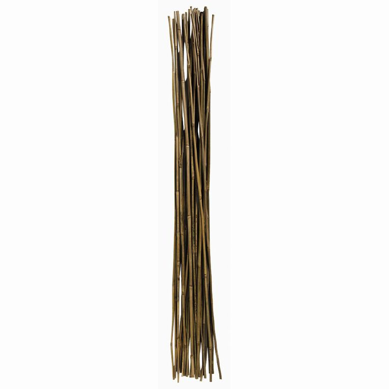 Kiwi Garden Bamboo Stakes 122 cm 8-10mm 25 Pack, , hi-res
