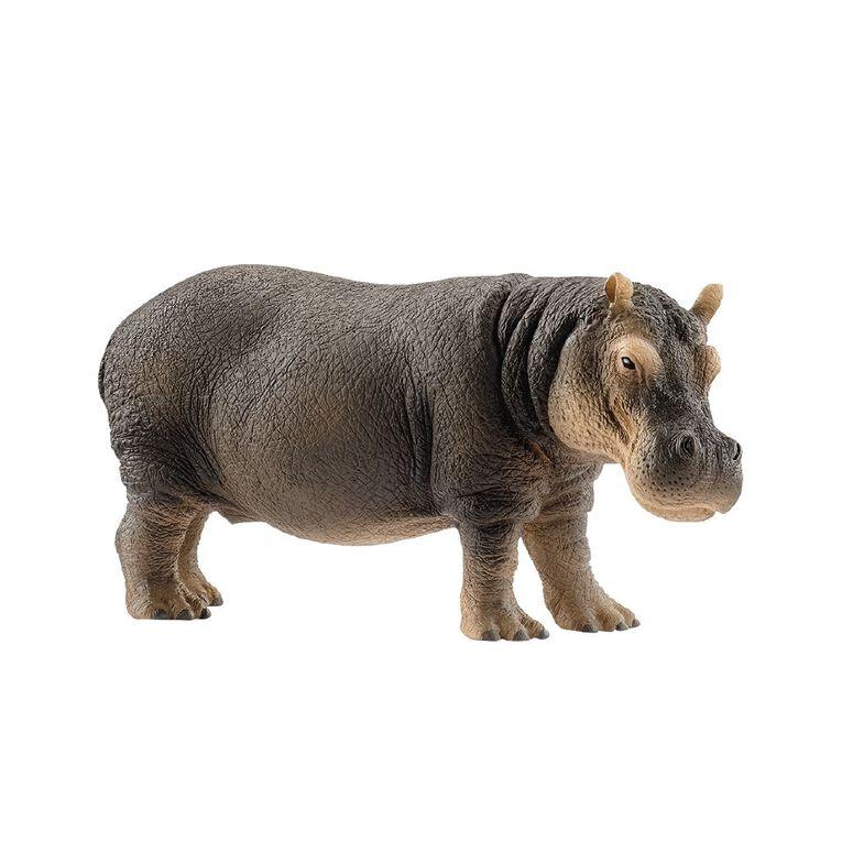 Schleich Hippopotamus, , hi-res