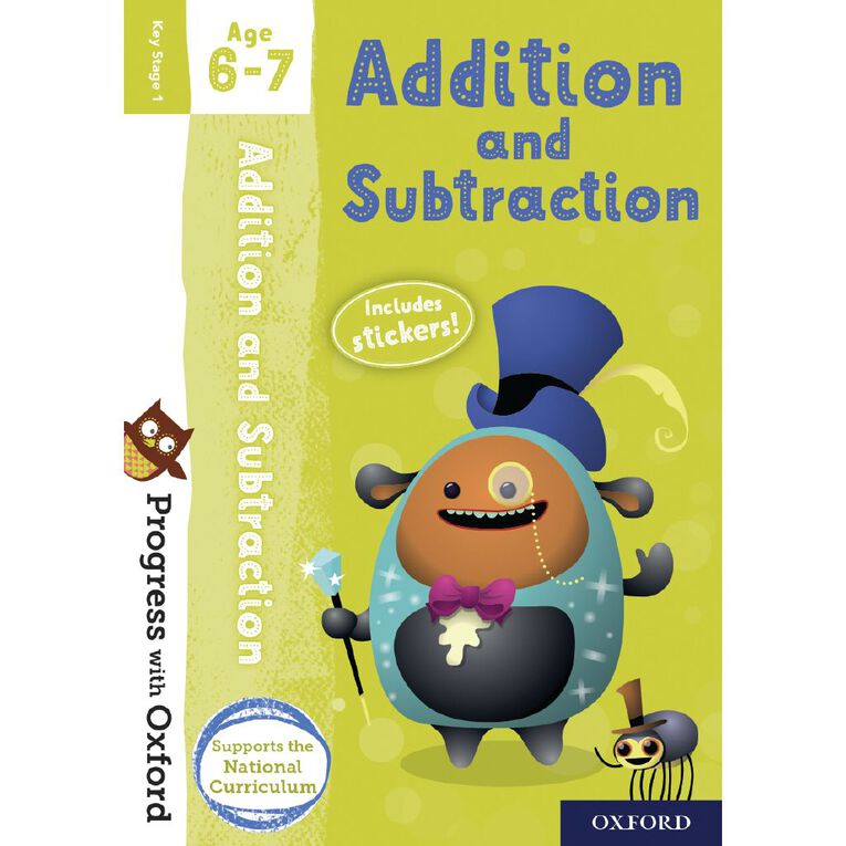 Addition and Subtraction Age 6-7 by Oxford University Press N/A, , hi-res