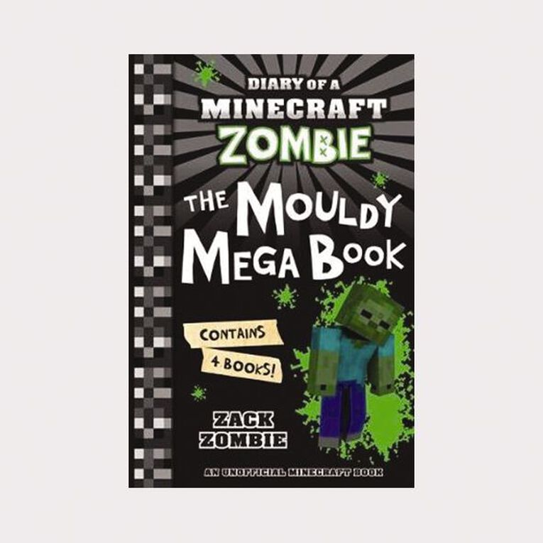 Minecraft Zombie: The Mouldy Mega Book #1 by Zack Zombie, , hi-res