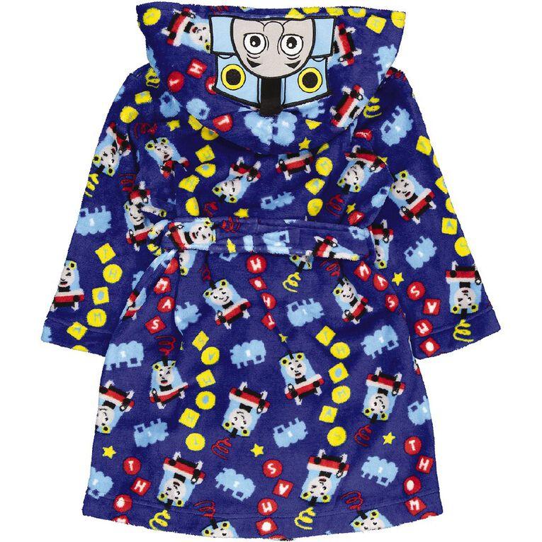Thomas The Tank Engine Kids' Robe, Blue, hi-res