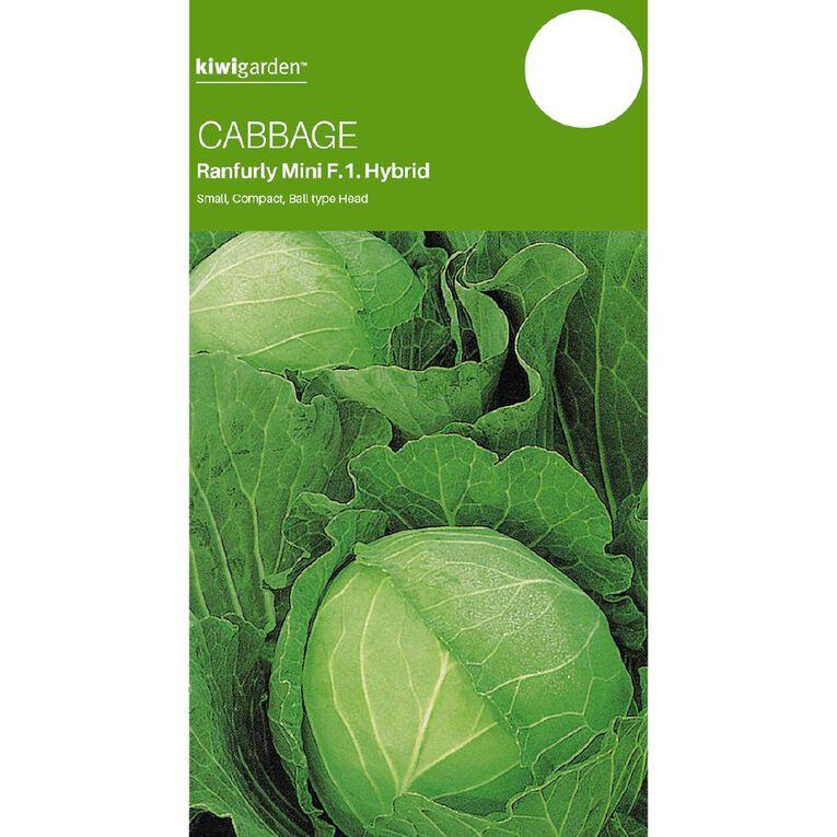 Kiwi Garden Cabbage Ranfurly Mini F1 Hybrid, , hi-res