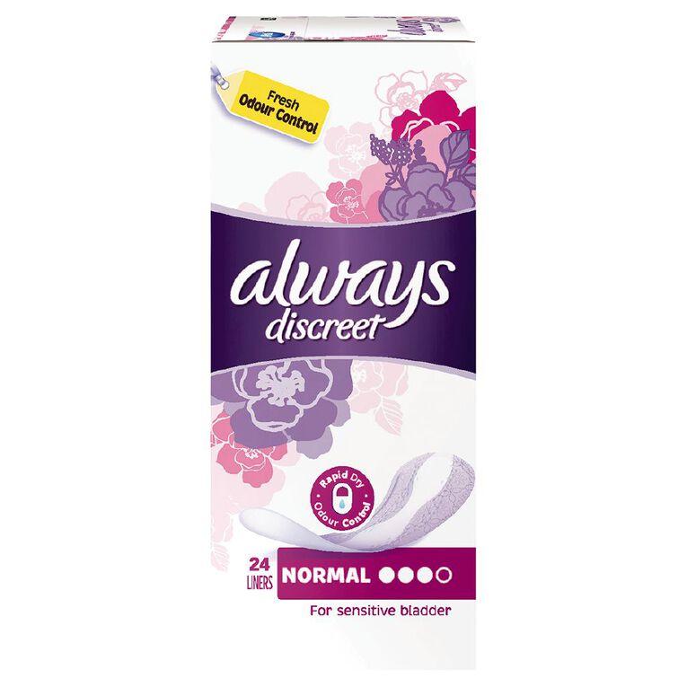 Always Discreet Liner 24 Pack, , hi-res