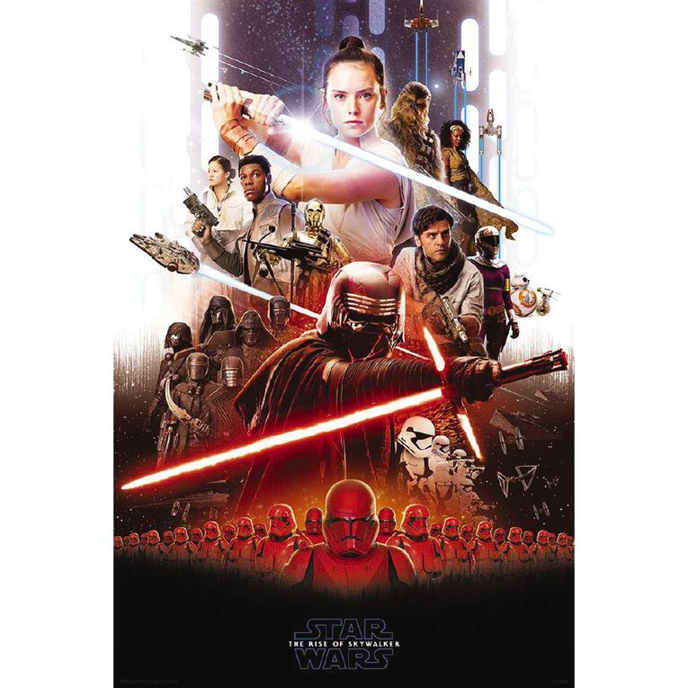 Poster #20 Star Wars 9 Rise Of Skywalker Key Art, , hi-res