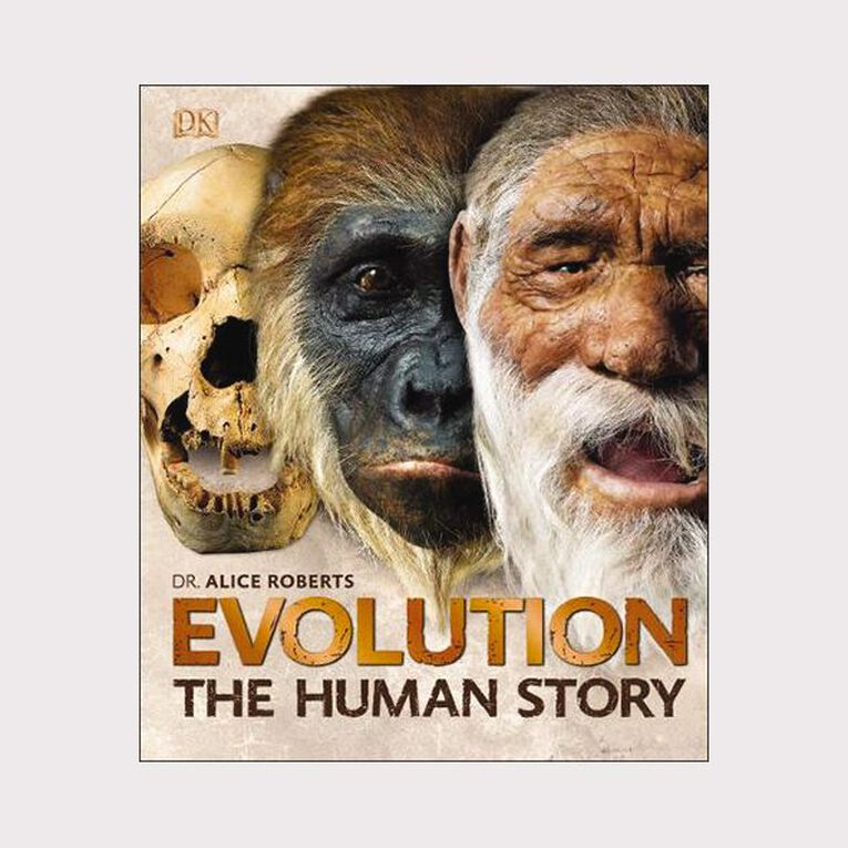 Evolution: The Human Story 2nd Edition by Dr Alice Roberts, , hi-res