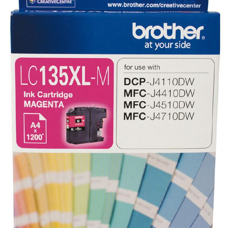 Brother Ink LC135XL Magenta (1200 Pages), , hi-res