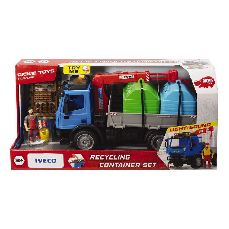 Dickie Recycling Container Set, , hi-res