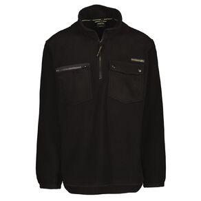 Back Country Men's 1/4 Zip Fleece Sweatshirt