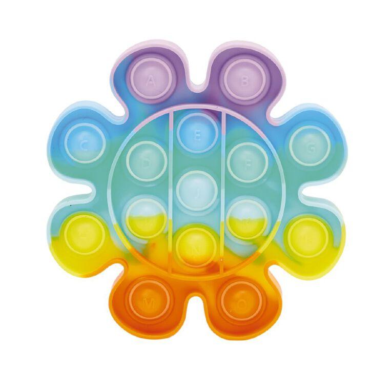 Fidget Pop-It Flower Rainbow, , hi-res
