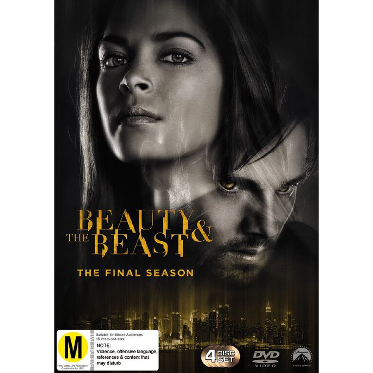 Beauty And The Beast S4 DVD 4Disc, , hi-res