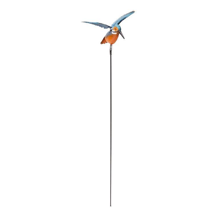 Kiwi Garden Metal Kingfisher Stake 78cm, , hi-res