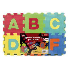 Play Studio Alphabet and Number Puzzle EVA Mat 36 Pieces