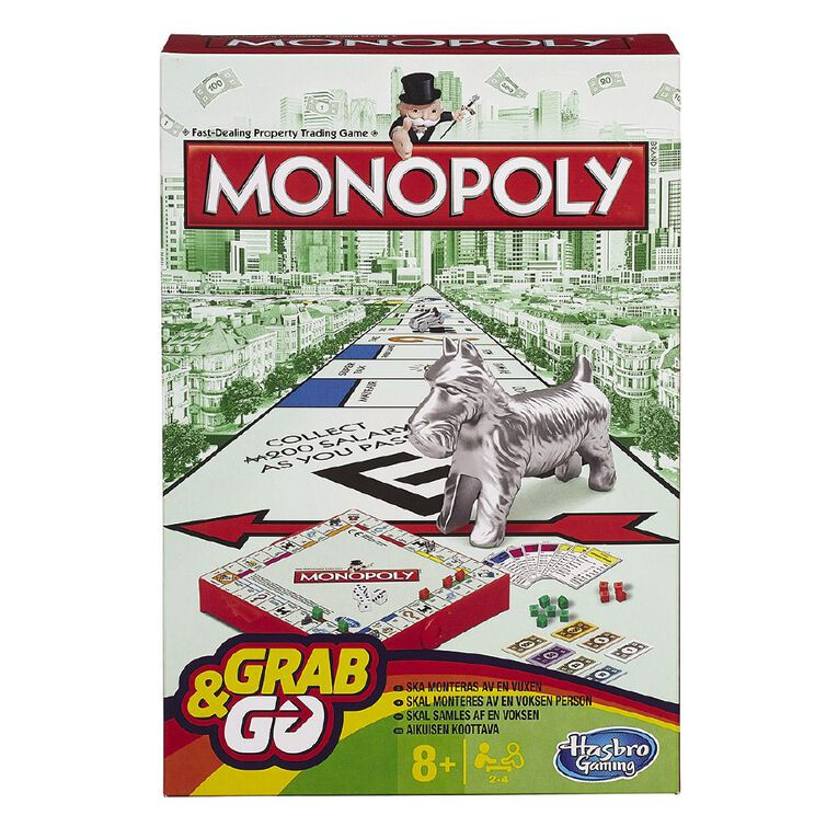 Monopoly Grab and Go, , hi-res