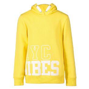 Young Original Pullover Hooded Print Sweatshirt