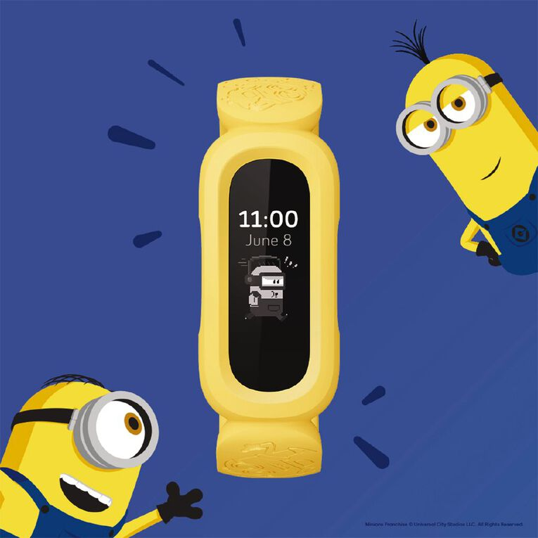 Fitbit Ace 3 Minions Yellow, , hi-res