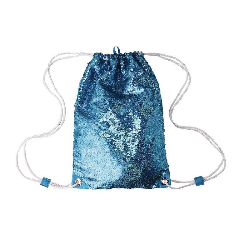 Young Original Kids' Sequin Bag, Blue, hi-res